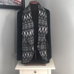 Black boho cardigan